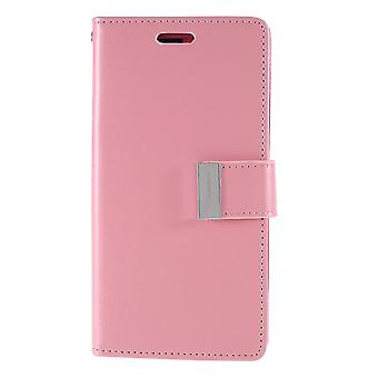 Mercury GOOSPERY Rich Diary for iPhone 11-Pink