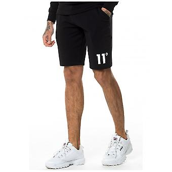 11 Grad Core Sweat Shorts - Schwarz