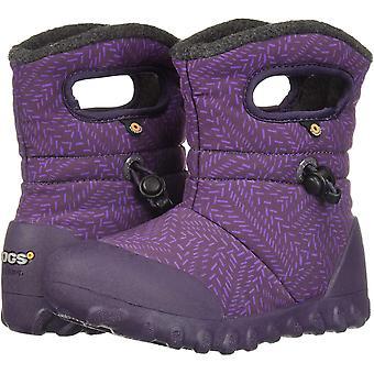 Kids Bogs Girls B-Moc Bears Ankle Slip On Snow Boots