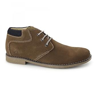 Chatham Tor Mens Suede Leather Desert Boots Tan