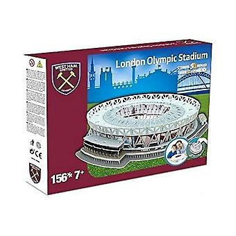 West Ham United's London Stadium 3D Puzzle Toy