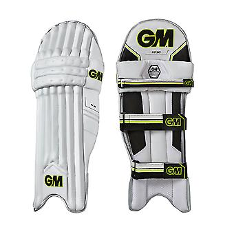 Gunn & Moore ST30 Cricket Wimper Pads Beinschützer White/Black/Lime