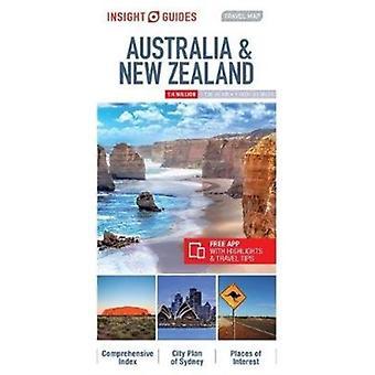 Insight Guides Travel Map Australia  New Zealand