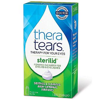 Theratears sterilid eyelid cleanser, 1.62 oz