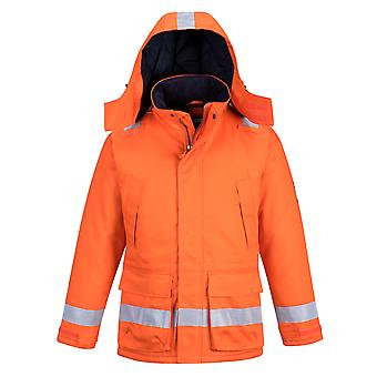 Portwest - Araflame Hi Vis Workwear Insulated Winter Jacket