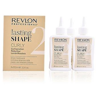 Revlon Lasting Shape Curling Lotion Natural Hair 3x100 ml