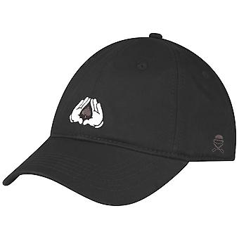 Cayler & sons Curved Strapback Cap - ALL IN black