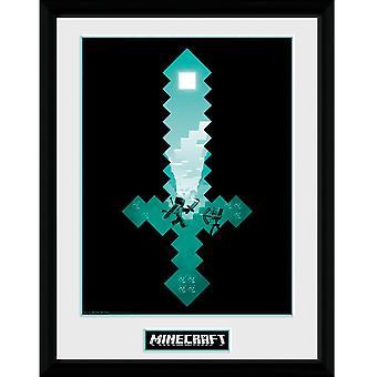 Minecraft, Painting - Diamond Sword