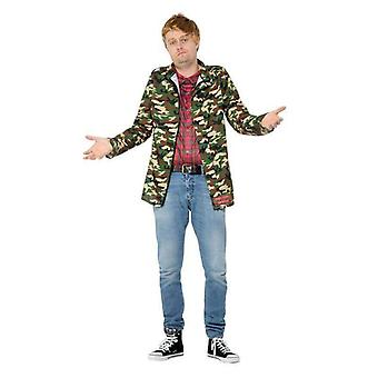 Only Fools and Horses, Rodney Costume Adult Camouflage