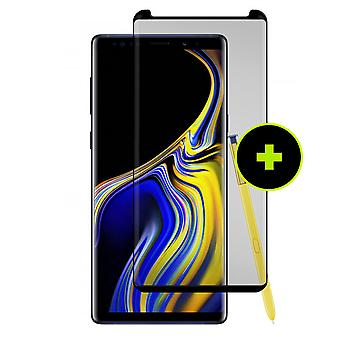 Gadżet Guard Tempered Glass Screen Guard dla Samsung Galaxy Note 9 - Black Ice + Gzyms Edition