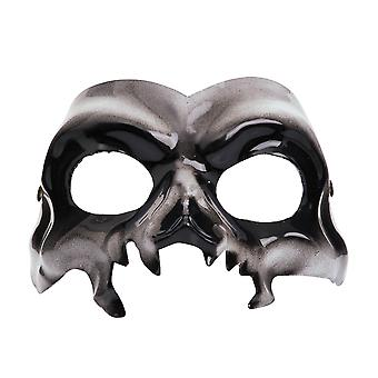 Bristol Novelty Unisex Adults Halloween Skull Eye Mask
