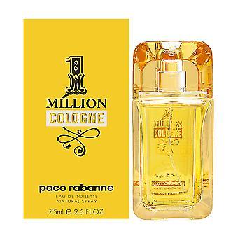 1 million cologne by paco rabanne for men 2.5 oz eau de toilette spray