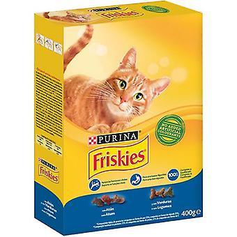 Friskies Erwachsener Thunfisch Und Gemüse (Katzen , Katzenfutter  , Trockenfutter)