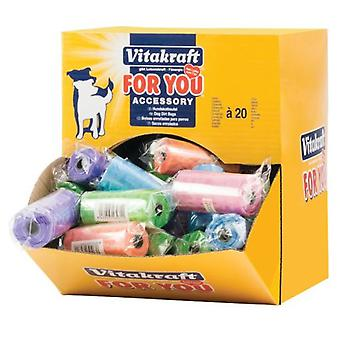 Vitakraft Roll Replacement Dispenser 20 Bags