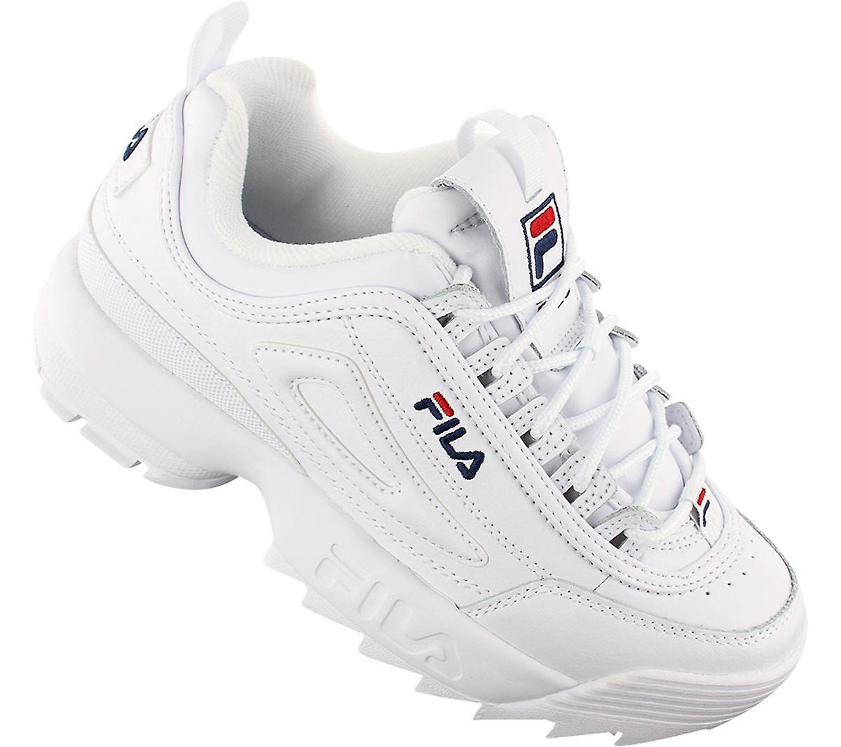 FILA Disruptor 2 Premium 5FM00002-125 - Damen Schuhe Weiß Sneakers Sportschuhe - Gratis verzending hMsbdO