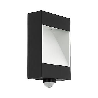 Eglo Manfria - LED Outdoor Wall Light with PIR Motion Sensor Anthracite, White IP65 - EG98098