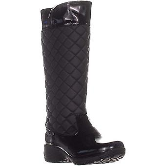Khombu Womens Merrit2 Faux Fur Closed Toe Knee High Cold Weather Boots