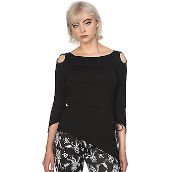 Banned Apparel Lace Up Hem Top