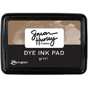 Simon Hurley créer. Dye Ink Pad - Grrr!