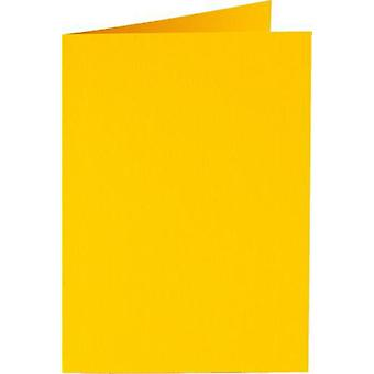 Papicolor 6X Double Card 132X132mm Buttercup-Yellow