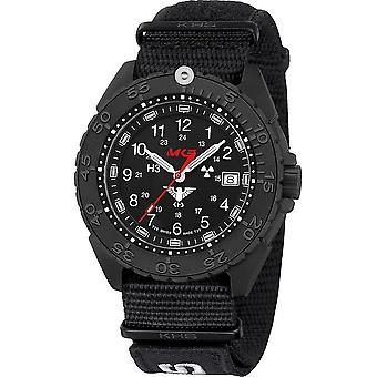 KHS Wristwatch الرجال المنفذ الأسود تيتان CR KHS. ENFBTCR. NXT7