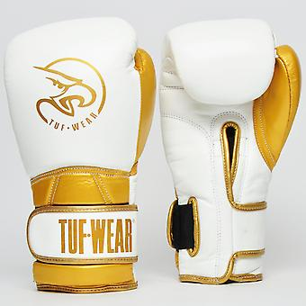 Tuf Wear Creed Leather Glove White / Gold