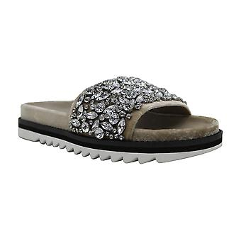 Joie Womens jacory Fabric Open Toe Casual Slide Sandals