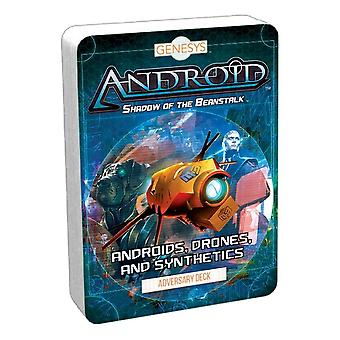 Genesys RPG Androids Drones and Synthetics Adversary Deck