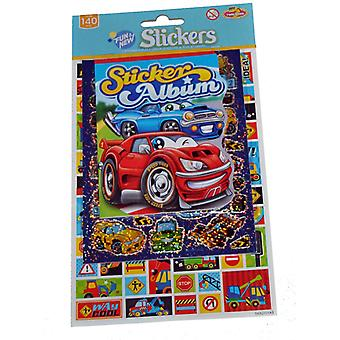 Cars stickers + albums