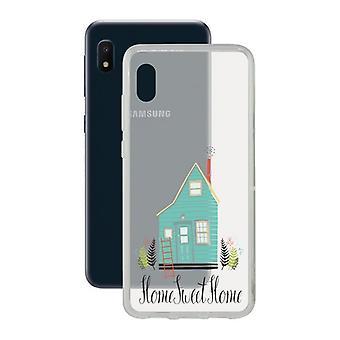 Mobile Abdeckung Samsung Galaxy A10e Kontakt Flex Home TPU