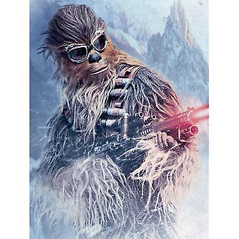 Yksin Star Wars Story Chewie Blaster Canvas Plate 60 * 80cm