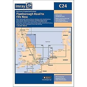 Imray Chart C24 - Flamborough Head to Fife Ness by Imray - 97817867902