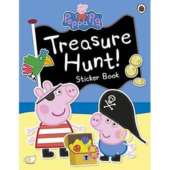 Peppa Pig Treasure Hunt Sticker Book by Peppa Pig