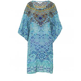 Inoa Atlantis Short Silk Kaftan