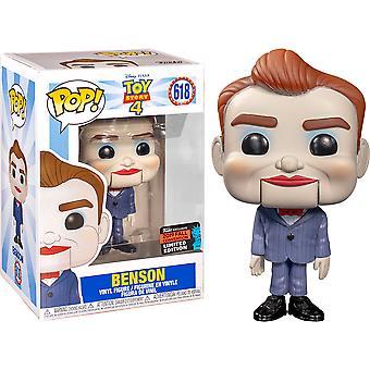 Toy Story 4 Benson NYCC 2019 US Exclusive Pop! Vinyl