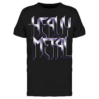 Heavy Metal Effect Graphic Tee Men & apos;s -Image بواسطة Shutterstock