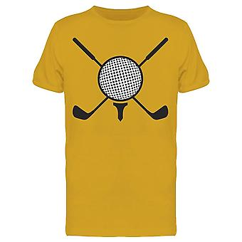 Stick Golf And Golf Ball   Tee Men's -Image by Shutterstock