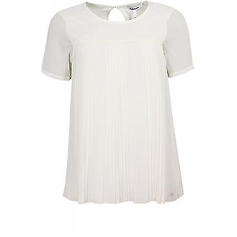 Steilmann Chiffon Pleated Front Top