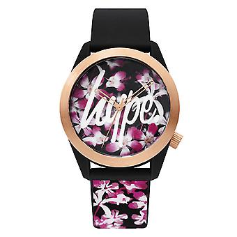 Hype Unisex analoge Floral Watch