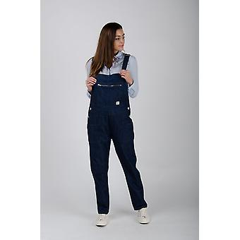 The #2001 full length womens overall rinsed