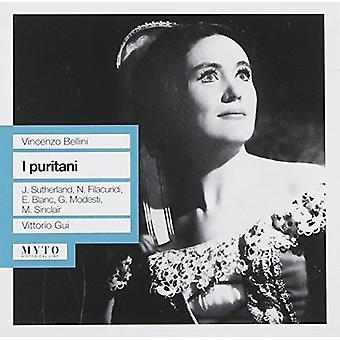 Bellini / Sutherland / Blanc / Modesti / Gui - I Puritani [CD] USA import