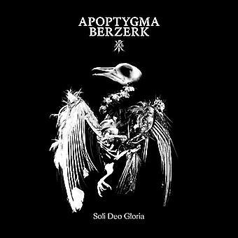 Apoptygma Berzerk - Soli Deo Gloria [CD] USA import