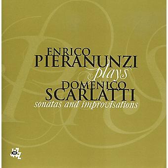 Enrico Pieranunzi - Enrico Pieranunzi Plays Domenico Scarlatti [CD] USA import