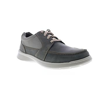 Clarks Cotrell Lane  Mens Green Leather Casual Oxfords Shoes
