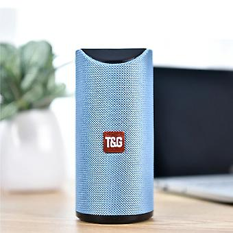 T & G TG-113 Wireless Soundbar Speaker Wireless Bluetooth 4.2 Speaker Box Blue