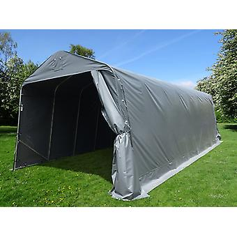 Portable Garage PRO 3.77x7.3x3.18 m PE, Grey