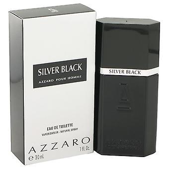Silver black eau de toilette spray by azzaro 460612 30 ml
