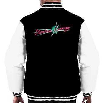 Jem And The Holograms Showtime Synergy Text Men's Varsity Jacket