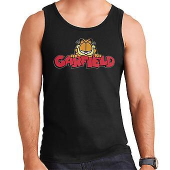 Garfield glimlach klassieke logo mannen ' s vest