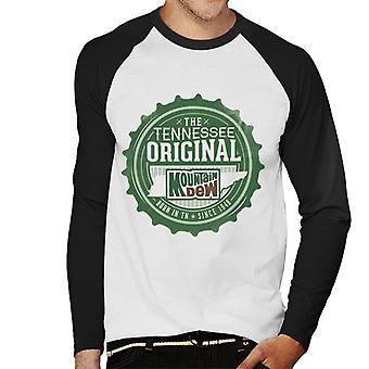 Mountain Dew The Tennessee Original Men's Baseball Long Sleeved T-Shirt
